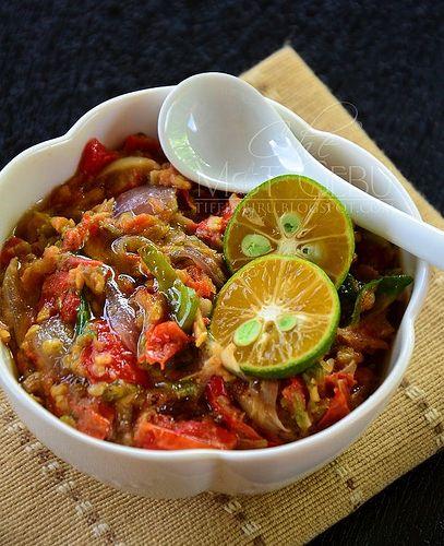 Dapur Tanpa Sempadan...: SAMBAL TOTOK JAWA