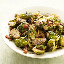 Brussels Sprouts with Bacon and Shallots... finally tried brussel sprouts and loved them! Now I'll have to give this recipe a try...