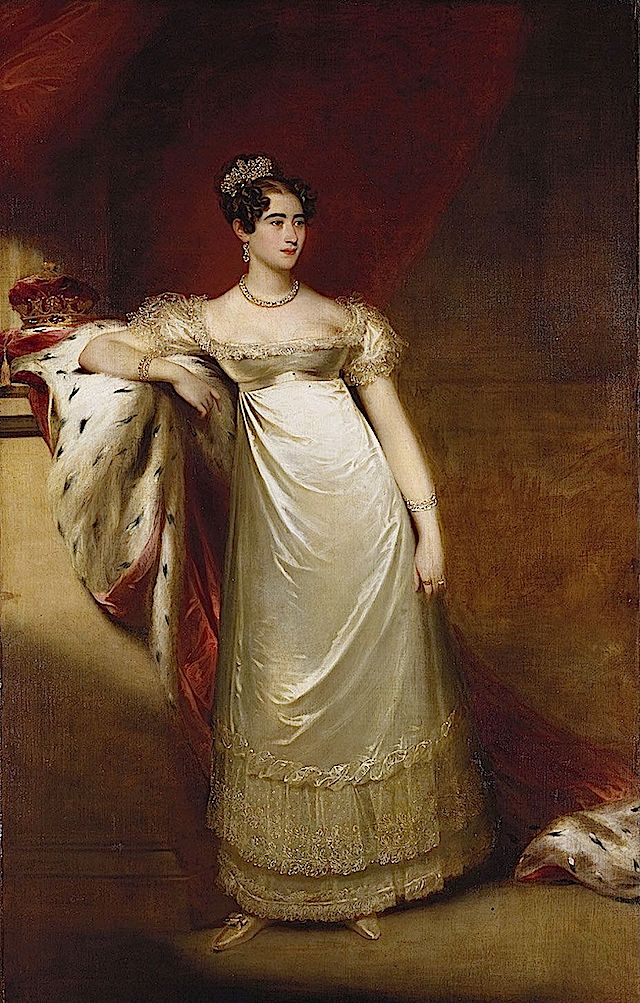 1818 Augusta, Duchess of Cambridge by William Beechey (Royal Collection)