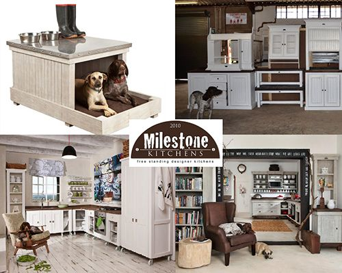 All Milestone Kitchens are German Shorthaired Pointer approved and we have the proof.