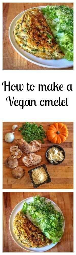 Some tips to make the perfect vegan omelet ! #vegan #omelet #eggfree #glutenfree