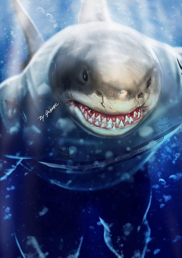 Cronulla Sharks mascot