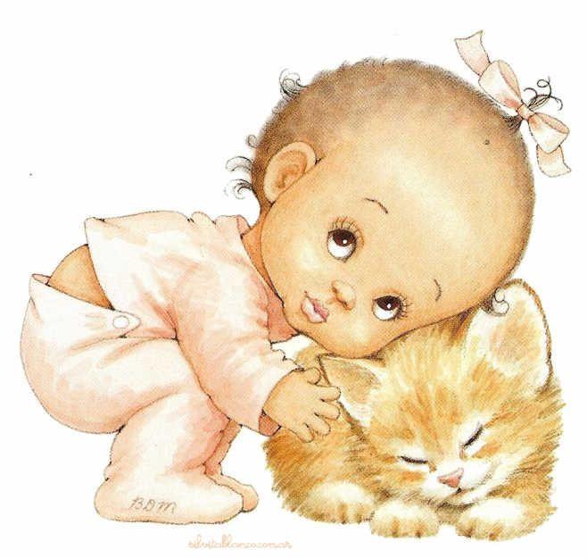 Днем, картинки надеюсь что встретимся с изображением малыша и малышки