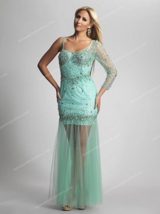 Dave and Johnny 8023 Single Sleeved Two Straps Long Home Coming Dresses [Dave and Johnny 8023] - $188.00 : Juniors' Dresses | Cheap Prom Dresses 2014| Homecoming Dresses Discount