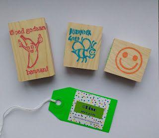 ©Lise: Beloningsstempels voor in mijn klas :)