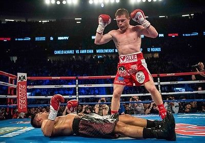 Saul canelo #alvarez vs. amir khan boxing #photo print #poster may 2016 fight 003,  View more on the LINK: 	http://www.zeppy.io/product/gb/2/141989385059/
