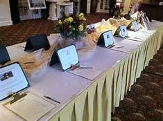 silent auction set up - Bing Images use certificate holders