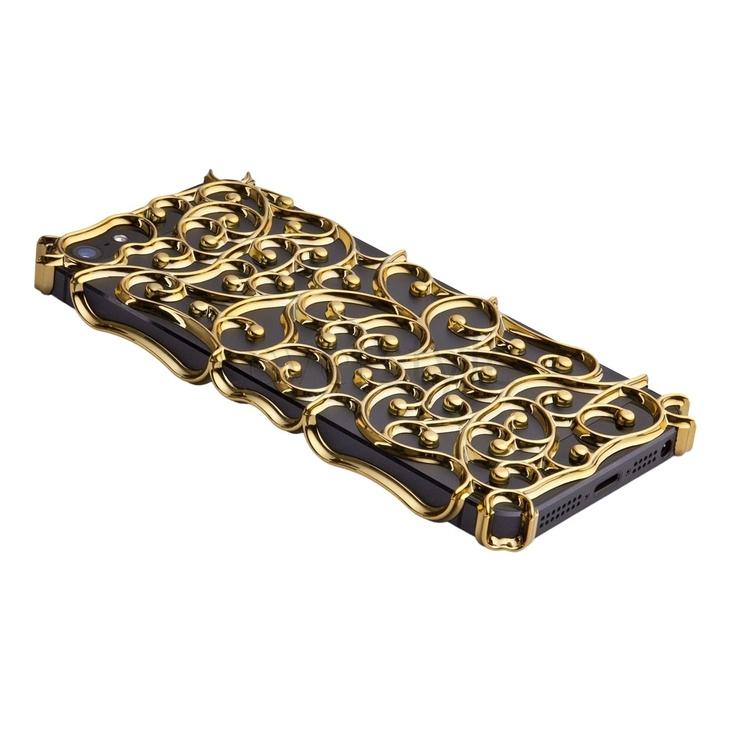 ION factory - Nouveau Art Case iPhone 5 - Oro