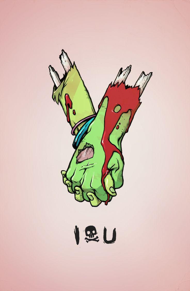 Plateia.co #ValoralaDiversidad #CreatividadsinLimites #PlateiaColombia #ilustracion #illustration I ☠ U - Kyle Harlan