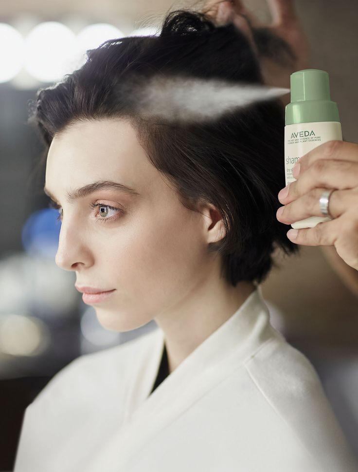nice Test; AVEDA Shampure Dry Shampoo