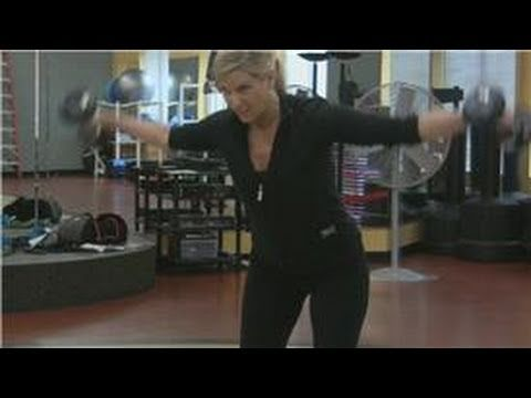 Dumbbell Exercises & Techniques : Middle Back Exercises With Dumbbells - YouTube