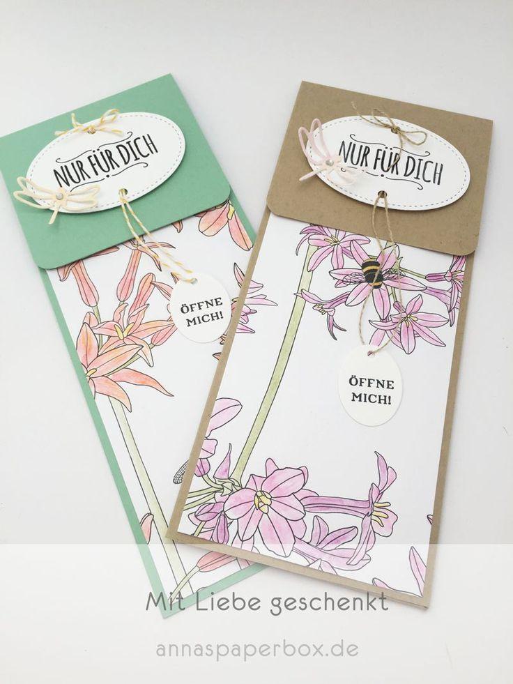 Ticket Umschlag - Ticket Envelope - anna's paperbox