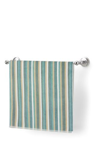 buy woven striped towel from the next uk online shop - Teal Bathroom Accessories Uk