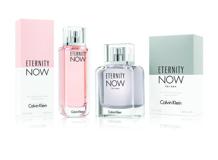 """Calvin Klein Eternity Now Eau Parfum - A primeira edição foi criada em 1978 e a mais recente é de 2015. """"Puro, simples, moderno, é o que eu faço melhor"""" Calvin Klein Eternity Now."""