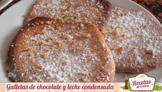 Galletas de chocolate y leche condensada, genial para la merienda -  Hoy os he querido traer estas galletas de chocolate y leche condensada para que paséis una tarde de merienda con toda la familia. Además, estas galletas son una buena opción para cualquier cumpleaños de vuestros hijos. La merienda para los niños siempre es algo que esperan con ansia, ya... - http://www.lasrecetascocina.com/2013/02/24/galletas-de-chocolate-y-leche-condensada-genial-para-la-merienda/