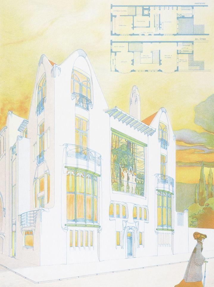 Inv. E. van Averbeke, Antwerpen | Julius Hoffmann Verlag | 1903 | Schola Graphidis Art Collection, Hungarian University Of Fine Arts - High School Of Visual Arts, Budapest | CC BY-SA