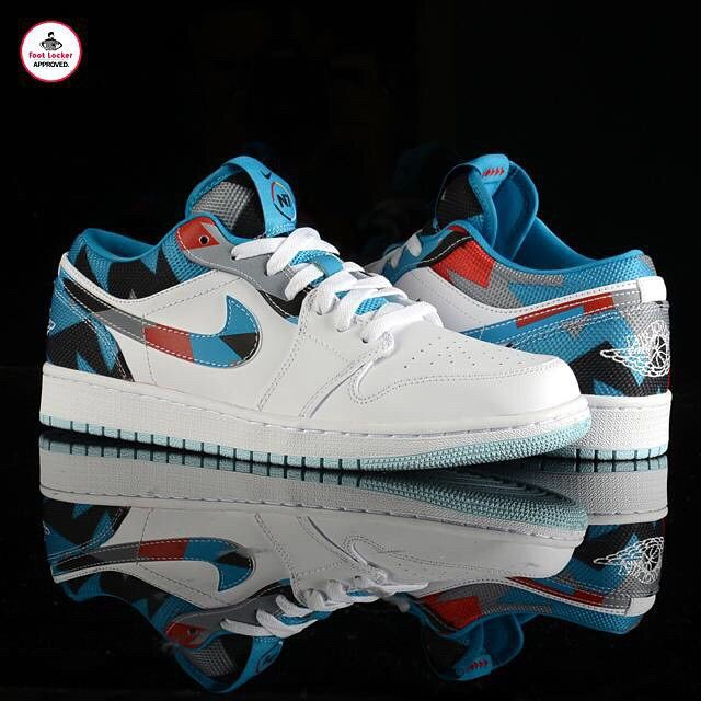 A look at the new Air #Jordan 1 Low N7. Available in stores
