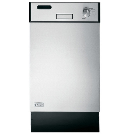 "This slim dishwasher from GE Monogram offers a precious extra 6"" over standard dishwashers, at only 18"" wide. GE Monogram"