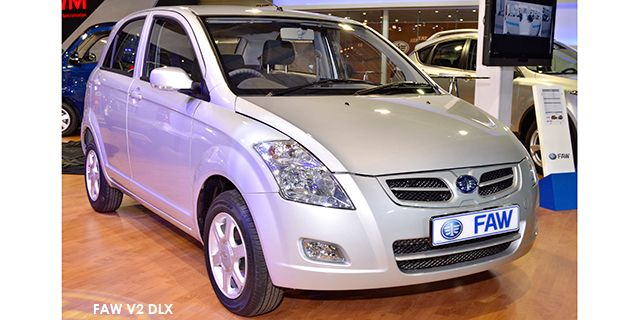 FAW V2 1.3 DLX   Price : R99,995.00 Engine size litre : 1.3L Fuel Type : Petrol Fuel range average : 569 km Fuel tank capacity including reserve : 37 acceleration0100kmh : n/a maximumtopspeed : 166km/h
