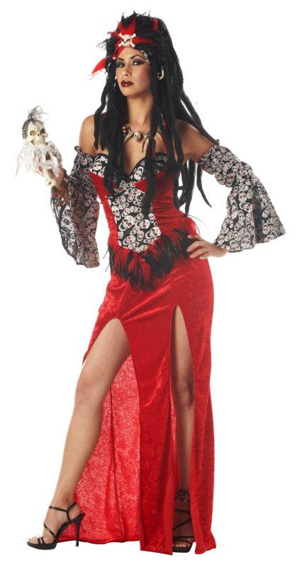 Voodoo Priestess Adult Costume Voodoo Priestess Adult