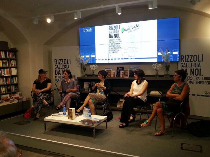 Letteratura al femminile con Women's Fiction Festival di Matera alla Libreria Rizzoli di Milano
