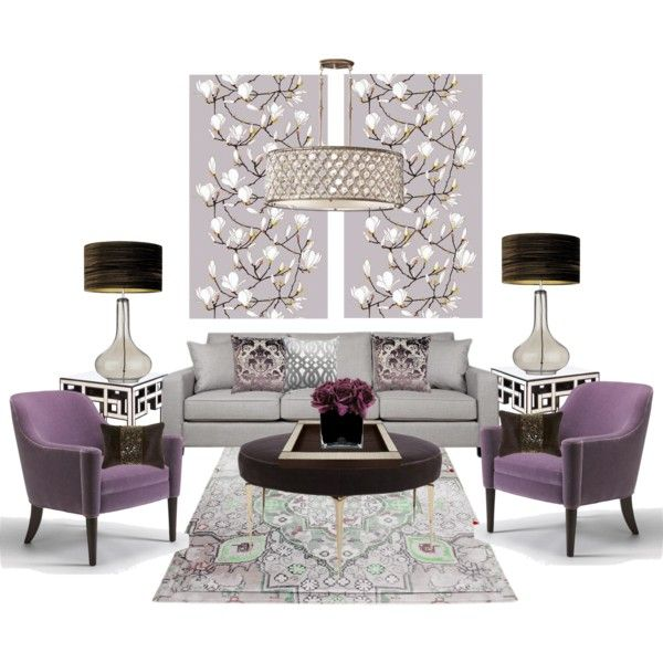 22 best images about salas peques on pinterest so fresh Lilac living room ideas