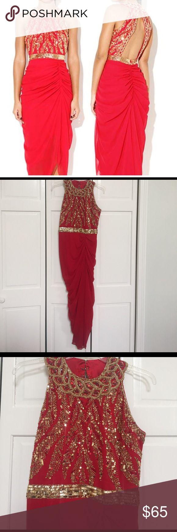 Glamorous Virgos Lounge Dress Worn once. Guaranteed head turner in this beautiful red gem 😍 Virgos Lounge Dresses Midi