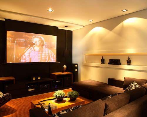 home theater iluminado