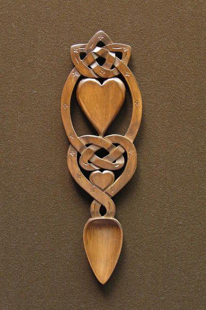 lovespoon 44 [spoon44] - $60.34 : Welsh love spoons The Lovespoon Gallery