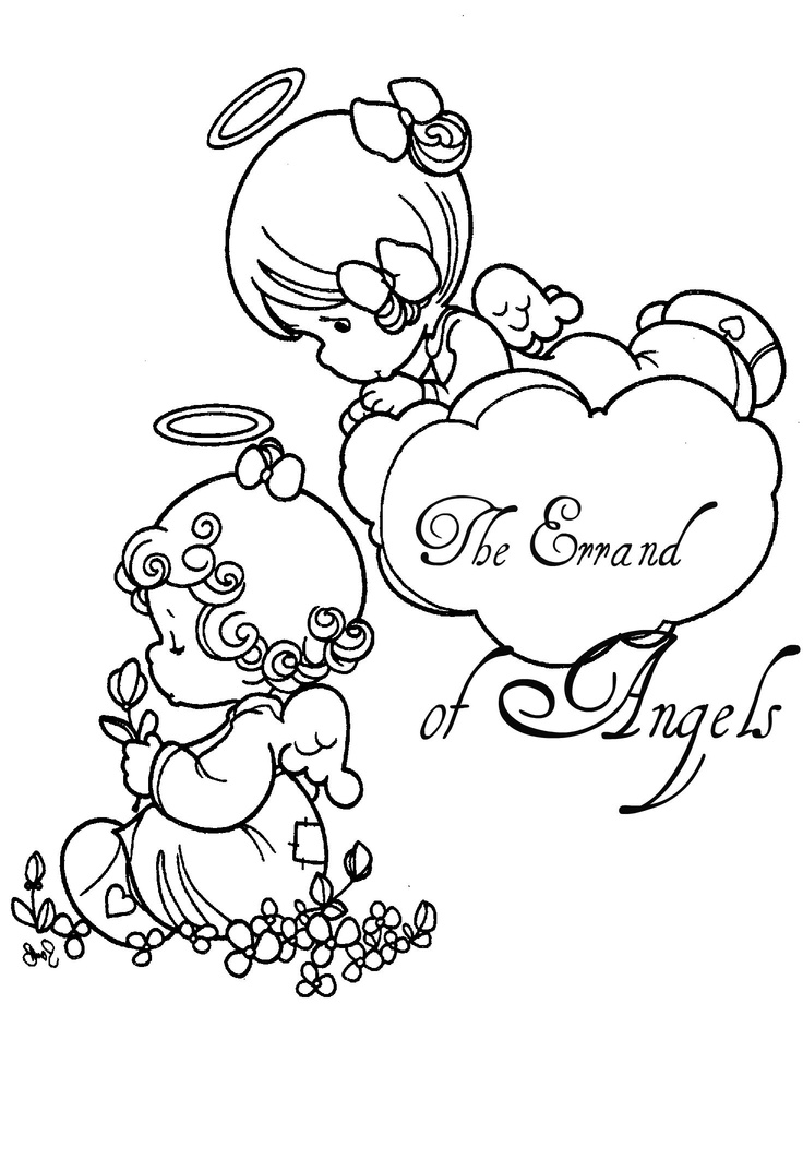 precious moments jesus loves me coloring pages | The Errand of Angels | Conference Coloring Book ...