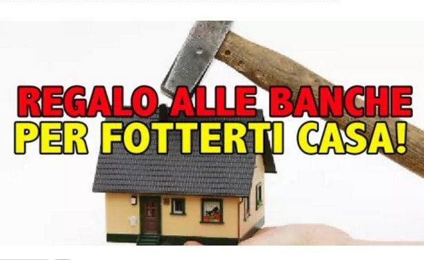 banche casa governo Renzi