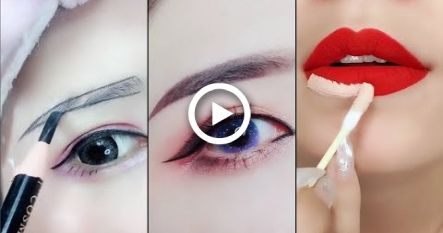 Amazing Makeup Tricks  Easy Eyeliner –  Eyebrow and Lipstick Tutorial For Beginners