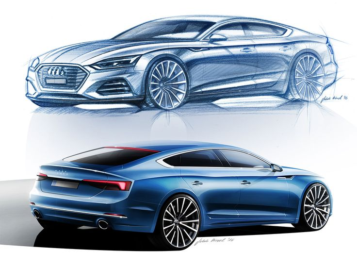 Audi A5 Sportback and A5 Cabriolet: design gallery