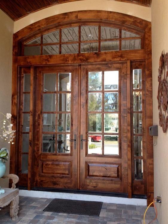 Wood Exterior Doors Best 25 Wood Entry Doors Ideas On Pinterest  Entry Doors Double