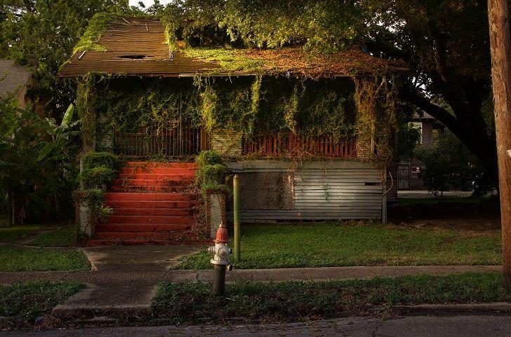Ступени в никуда: Нью-Орлеан спустя 10 лет после урагана «Катрина» • НОВОСТИ В ФОТОГРАФИЯХ