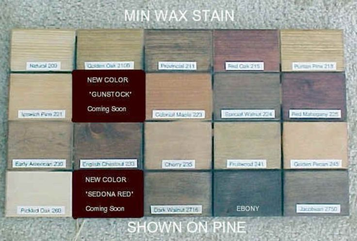 Minwax Stain Colors On Pine Ranch Bath In 2019 Minwax