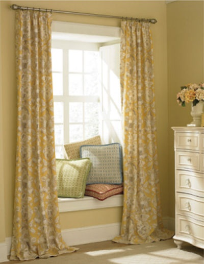 Window Seat With Curtains Reading Nook Pinterest