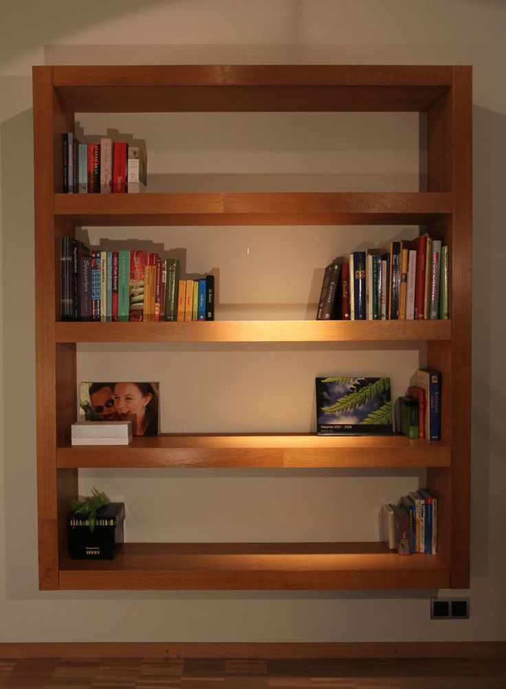 Bookshelf (Design by Strooom) | Bookcase plans, Floating bookshelves and  Diy woodworking