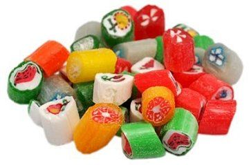 Cut Rock Candy - a traditional Christmas hard candy!