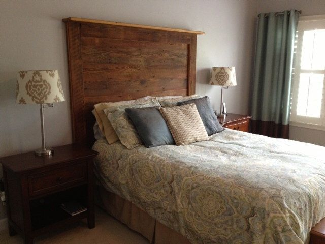 BARN WOOD HEADBOARDS by classypickers on Etsy https://www.etsy.com/listing/130118337/barn-wood-headboards