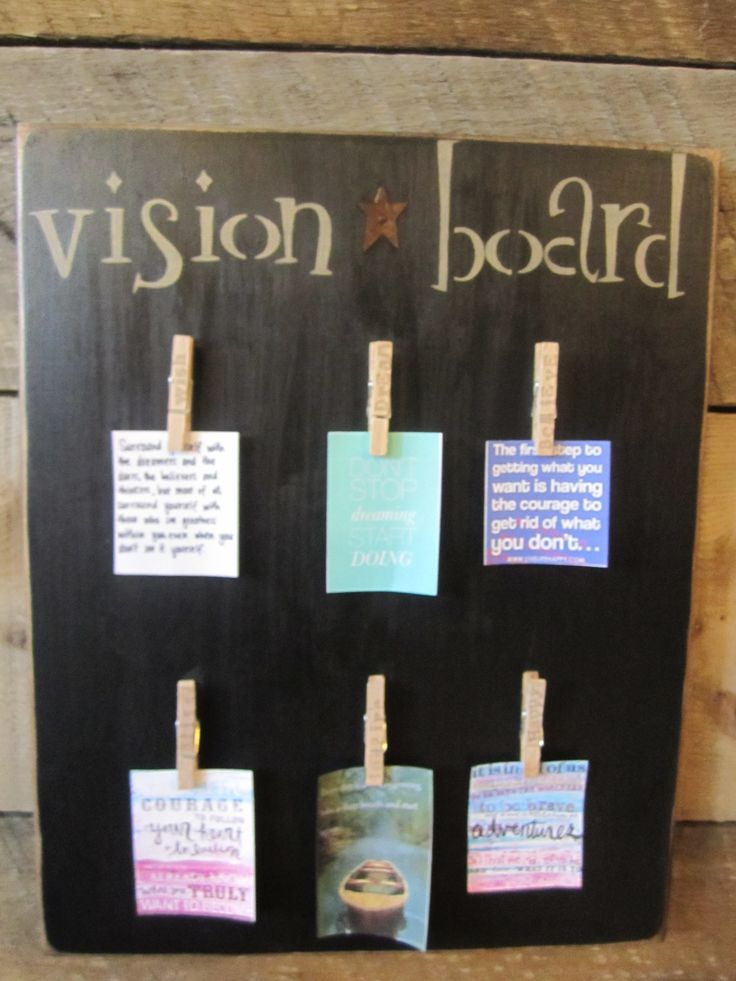 17 best images about vision boards on pinterest fitness for Board of ideas