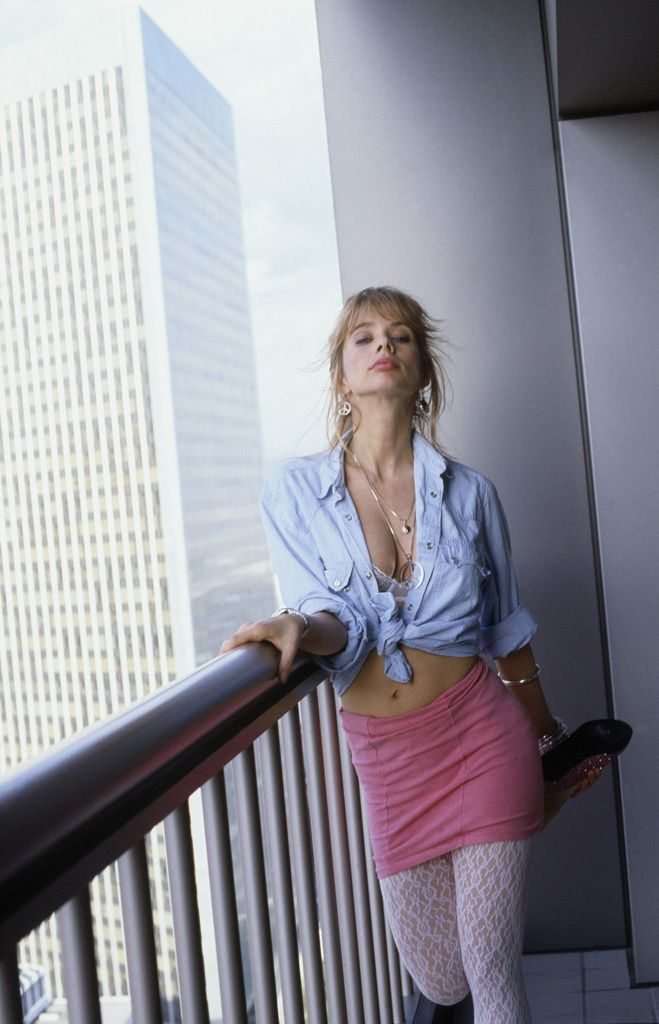 "Rosanna Arquette, 1986, Los Angeles, California, USA © Albane Navizet/Kipa/Corbis  She's the ""Rosanna"" of the Toto song."
