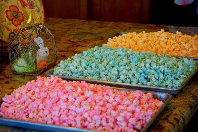 Sugared Popcorn - super easy!