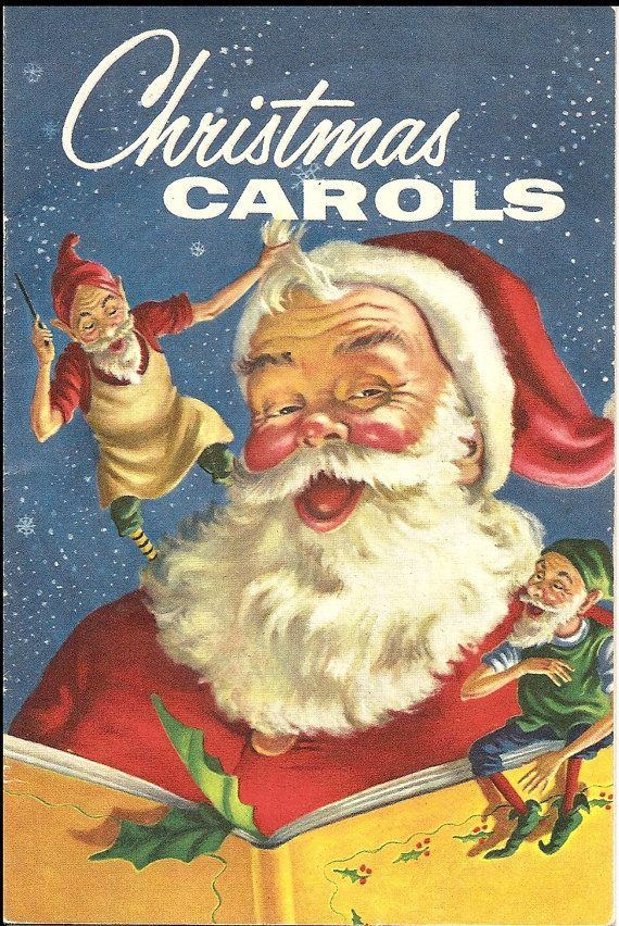 3 Vintage Christmas Carol Booklets by DelightfulHandwork on Etsy, $5.00