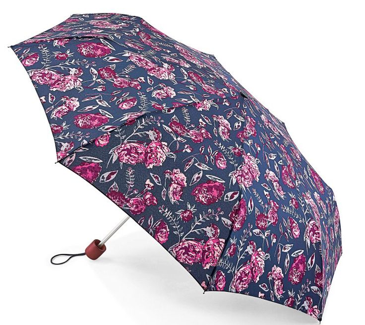 Love the colours in this pink and navy winter peonies print from Fulton.