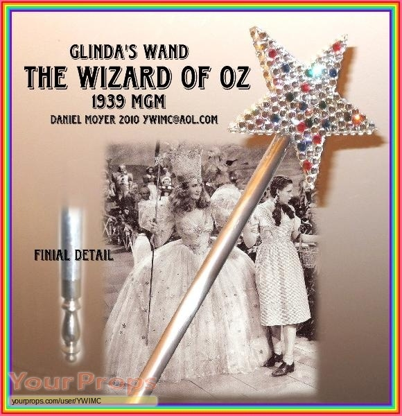 The Wizard of Oz (1939) movie prop Glinda wand