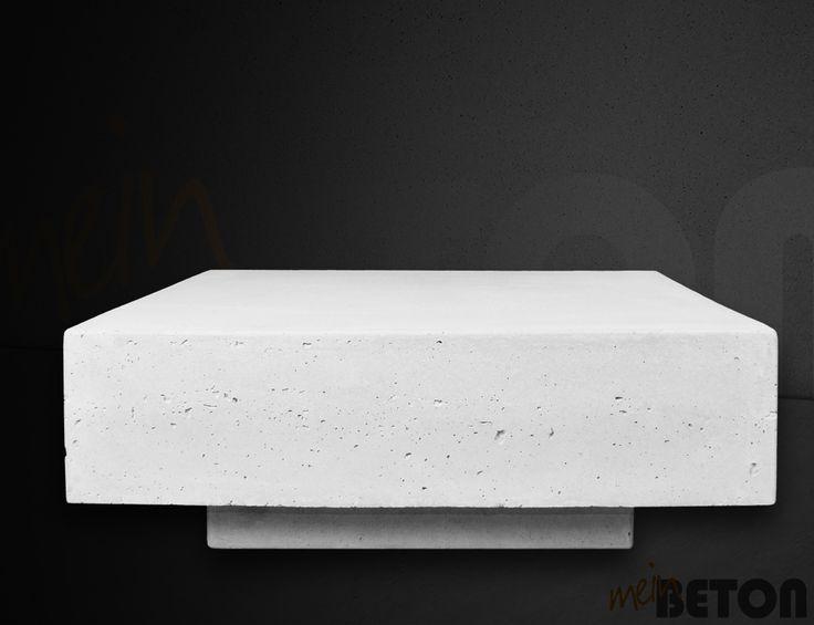 23 besten Betonmöbel, Betontisch, Betontische, Tisch aus Beton - beton wohnzimmertisch