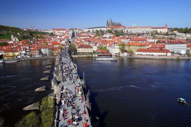 Прага.Карлов мост (Karlův most).