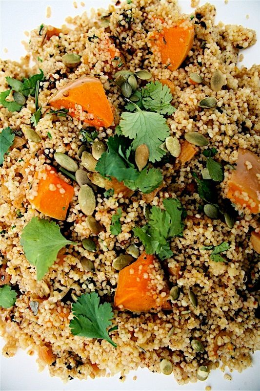 Simple and healthy but fabulous Ottolenghi cous cous recipe from the first Ottolenghi cookbook. Perfect for packed lunches, picnics and parties.