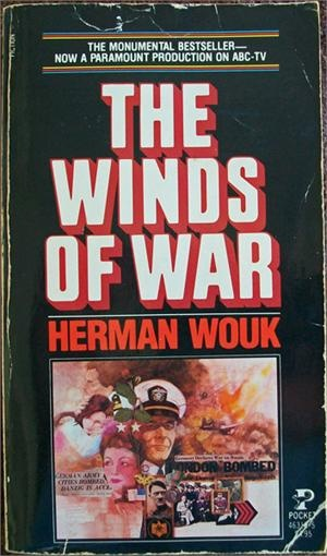 'The Winds of War' and the sequel 'War and Remembrance' are amazing books that follow one family through two world wars.